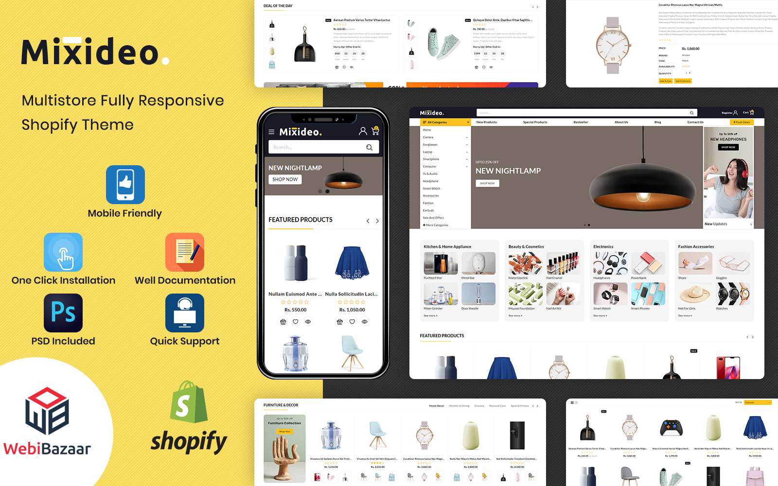 Mixideo - Multipurpose Modular Shopify Theme