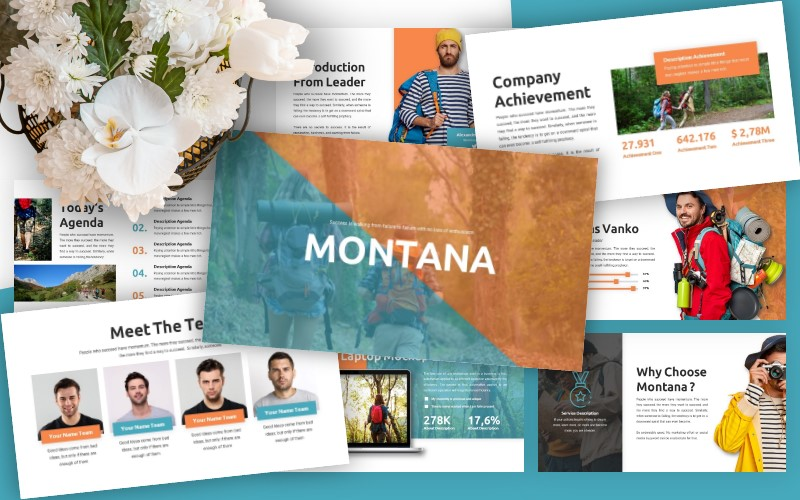Montana - Business Powerpoint Template