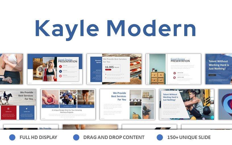 Kayle Modern PowerPoint Template