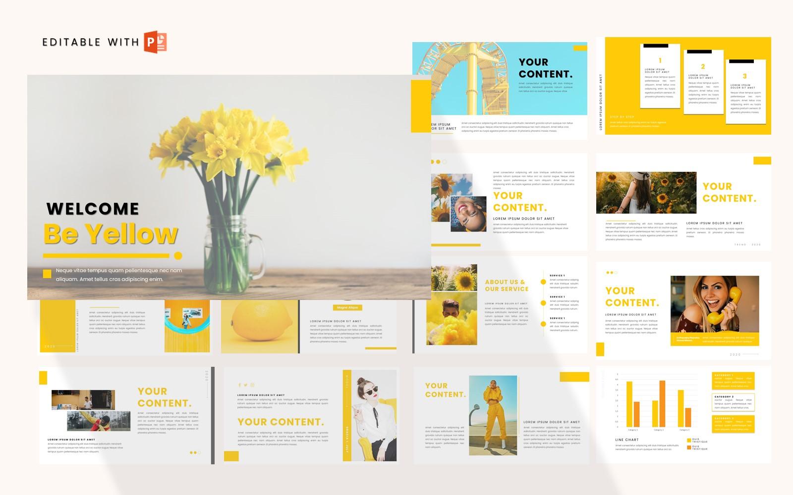 Yellownise PowerPoint Template