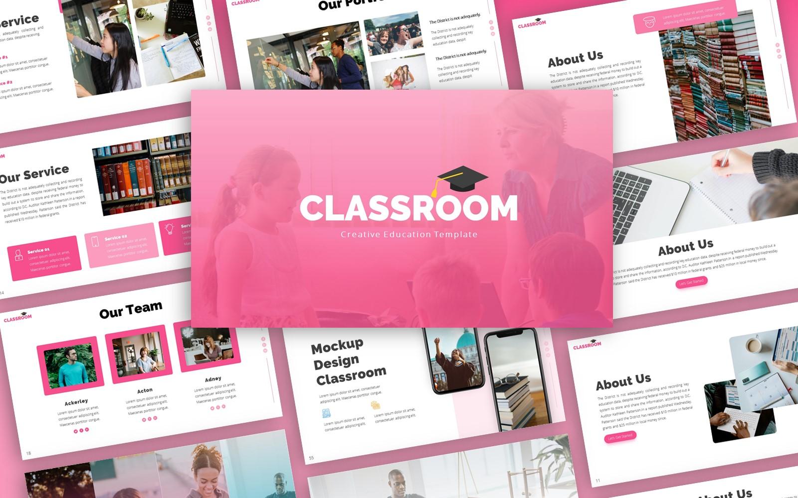 Classroom  - Education Multipurpose PowerPoint Template