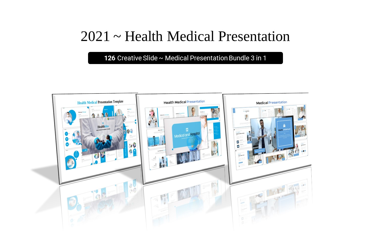 Healthy Medical Bundle Pack - Medical Powerpoint Template