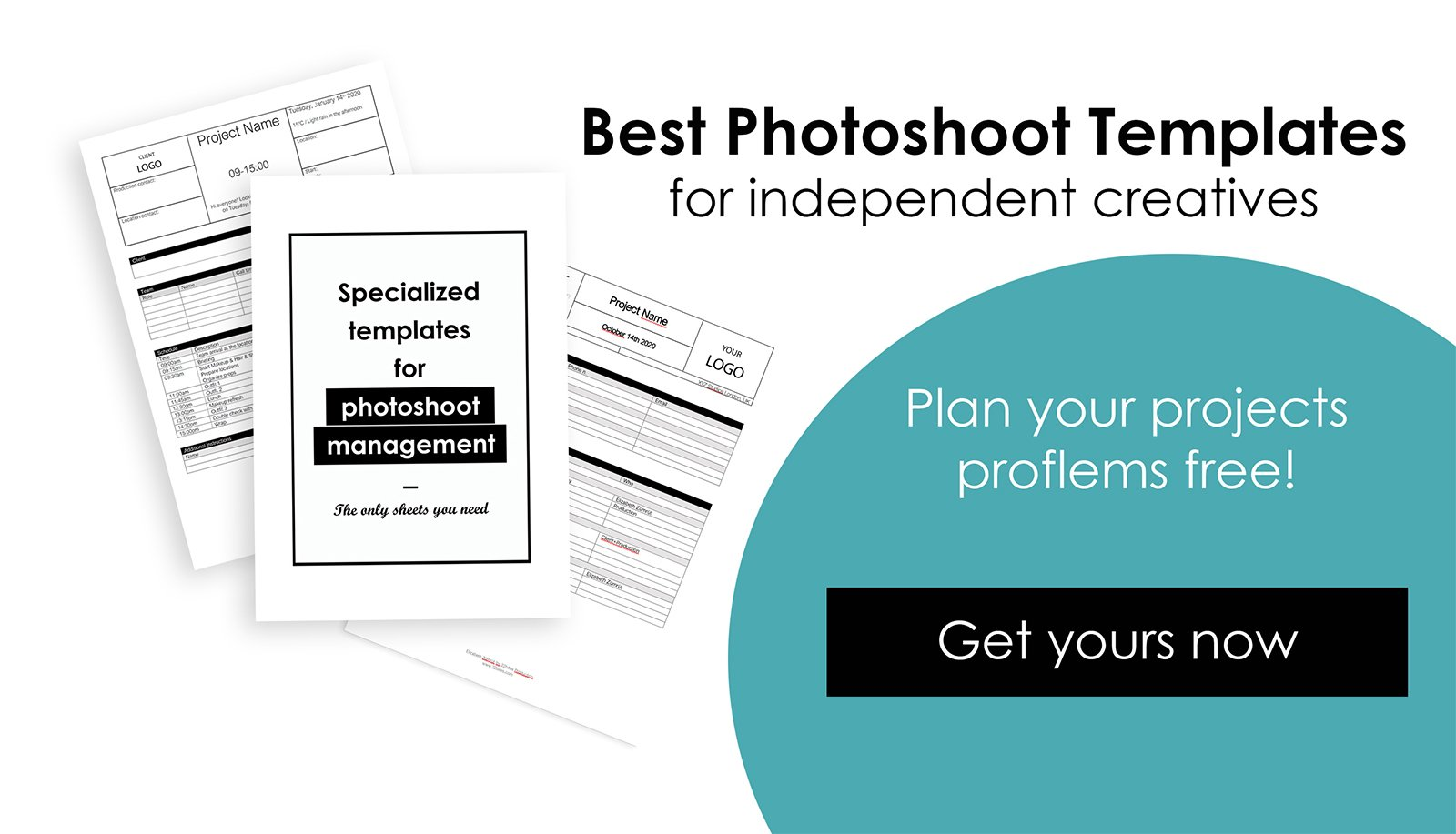 Easy Photoshoot Templates PowerPoint template