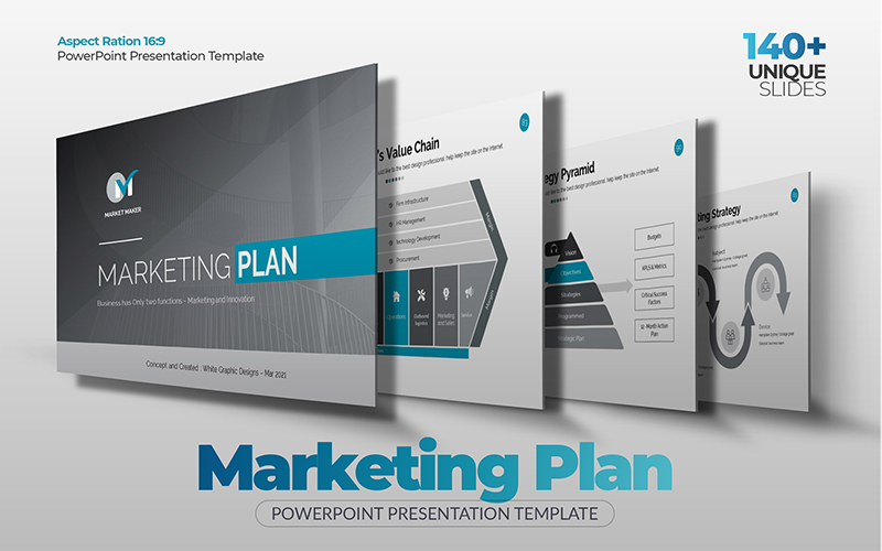 The Best Marketing Plan PowerPoint Template