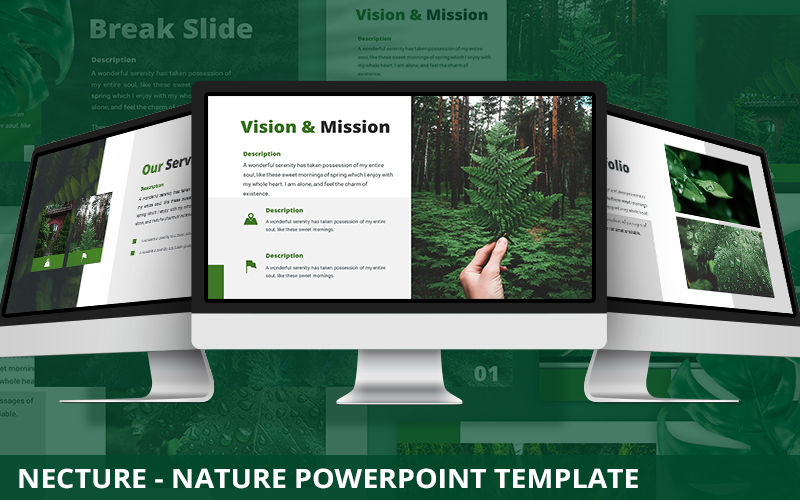 Nectura - Nature Powerpoint Template