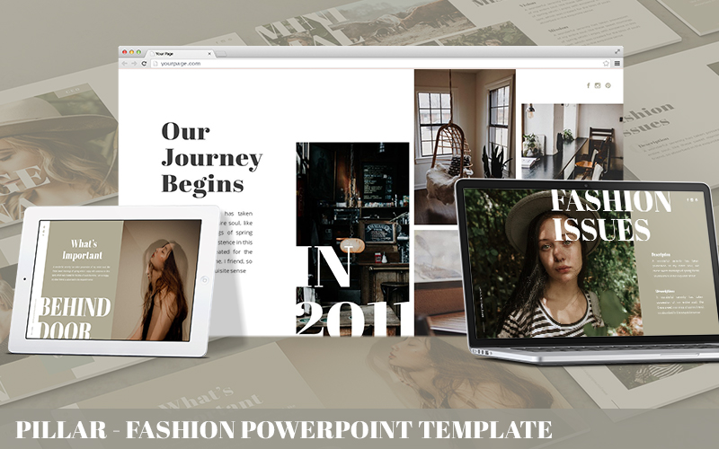 Pillar - Fashion Powerpoint Template