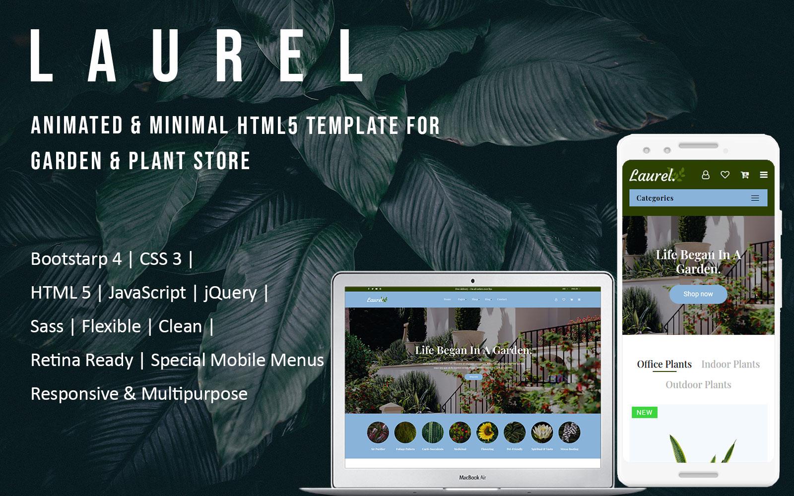 Laurel - Multipurpose eCommerce HTML Website Template