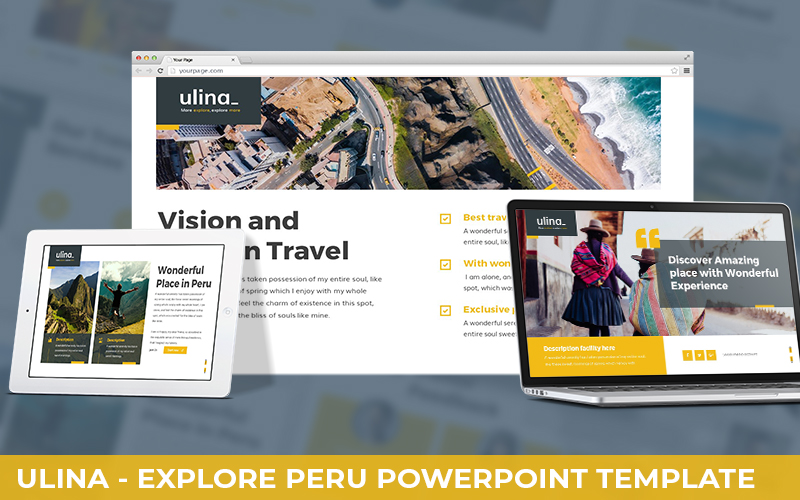 Ulina - Explore Peru Powerpoint Template