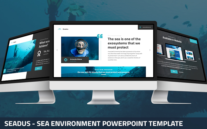 Seadus - Sea Environment Powerpoint Template