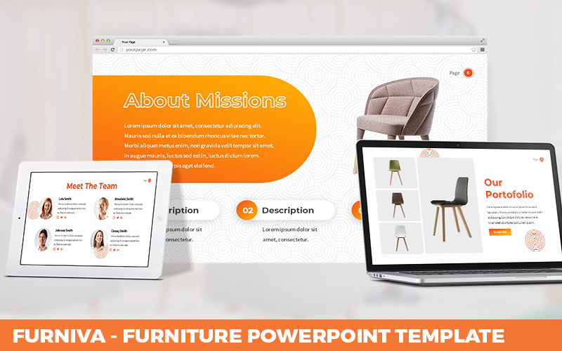 Furniva - Furniture Powerpoint Template