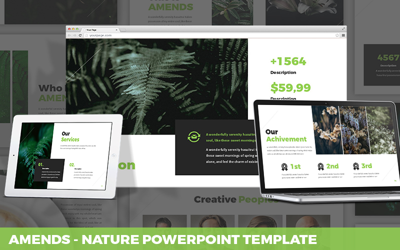 Amends - Nature Powerpoint Template