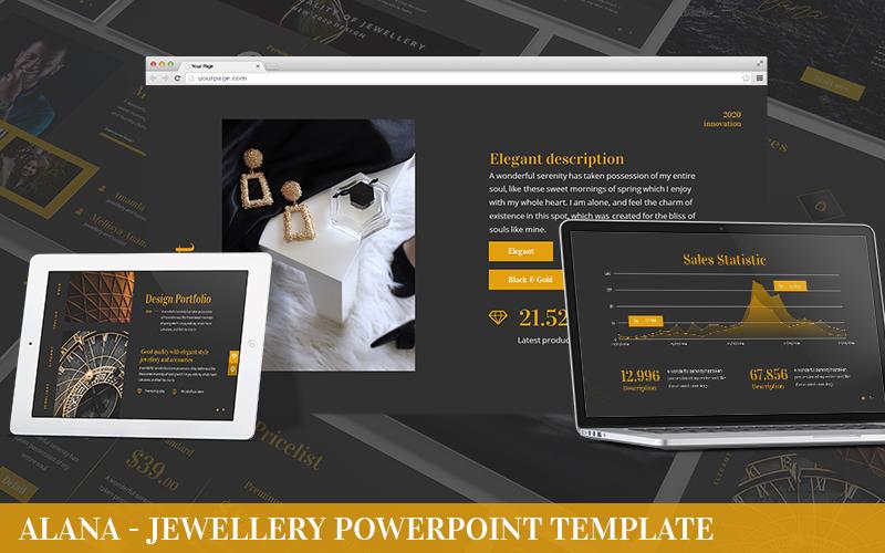 Alana - Jewelry Powerpoint Template
