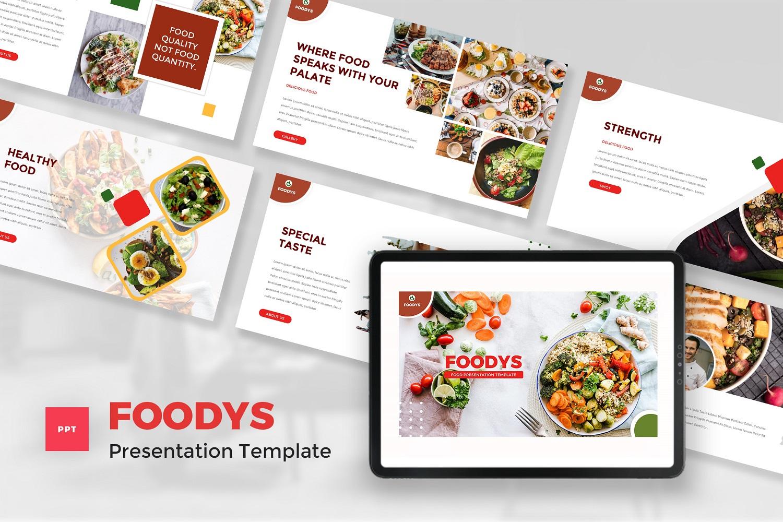 Foodys - Food PowerPoint Template
