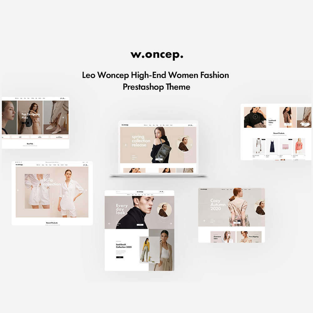 TMWoncep High-End Women Fashion Prestashop Theme