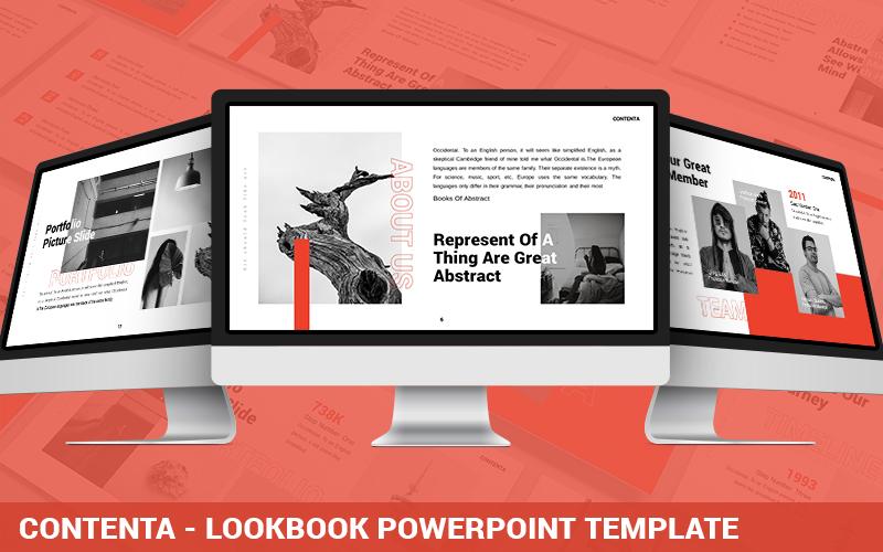 Contenta - Lookbook Powerpoint Template