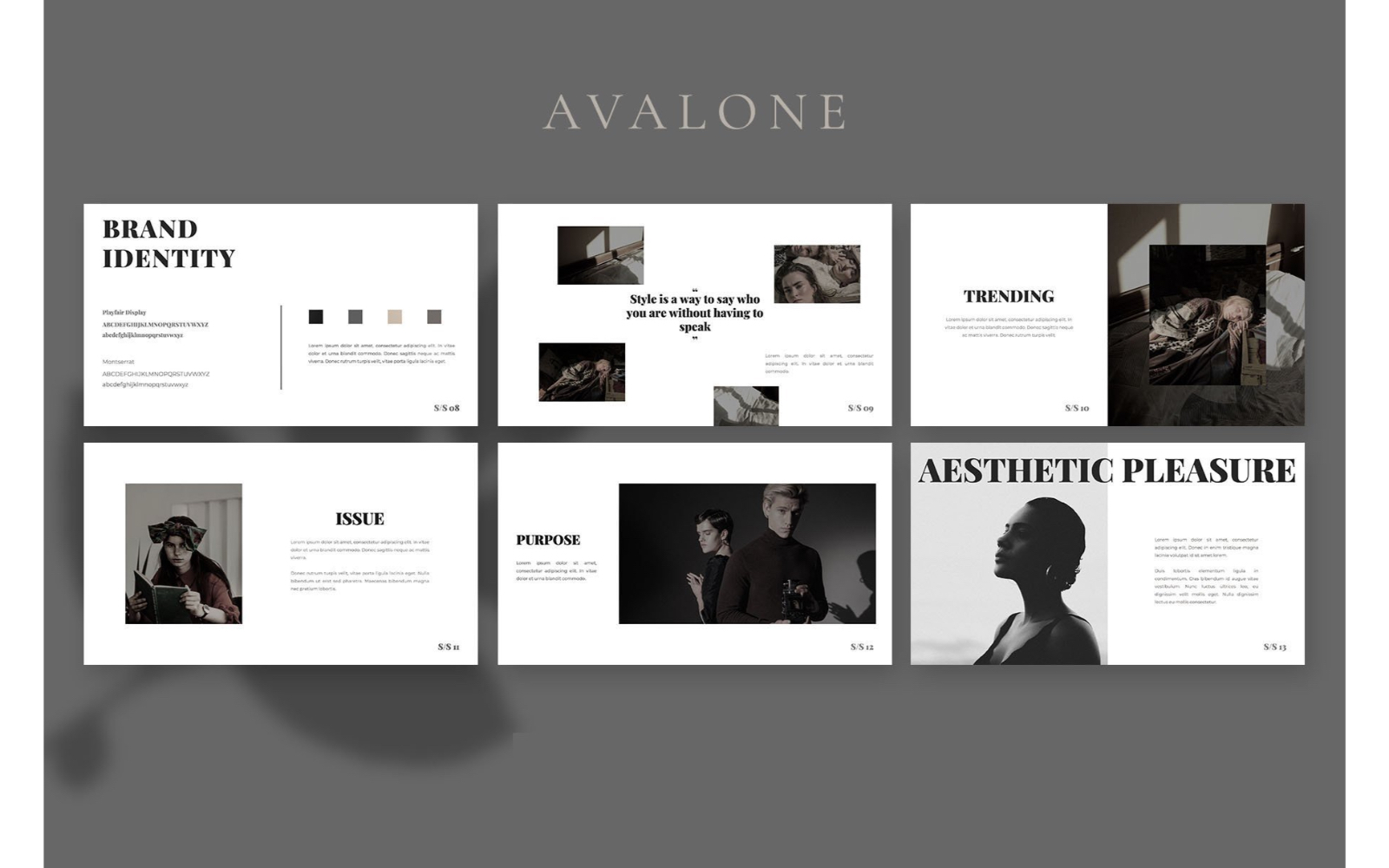 Avalone Powerpoint Template