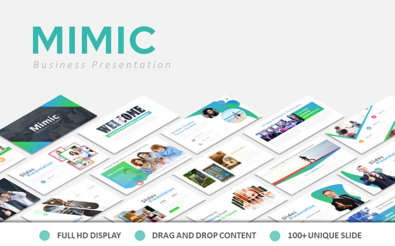 Mimic Powerpoint template
