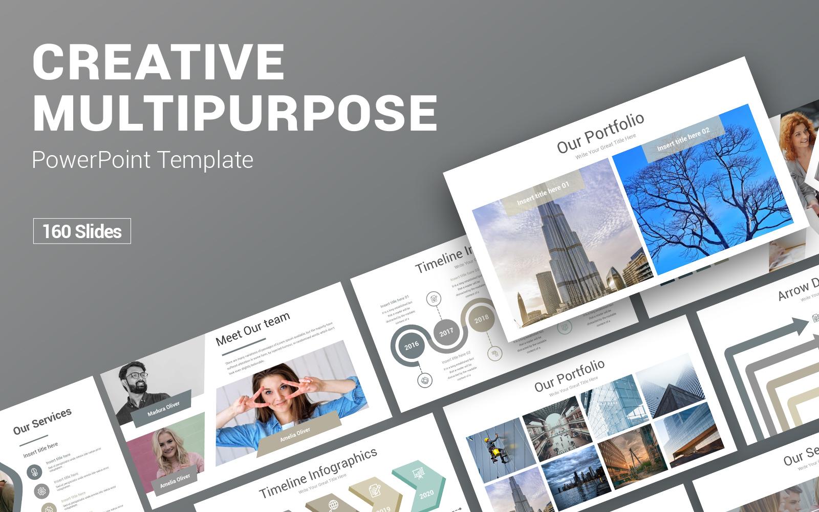 Creative Multipurpose PowerPoint Template