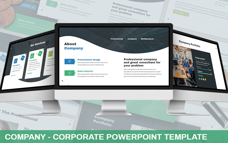 Proffesa - Corporate Powerpoint Template