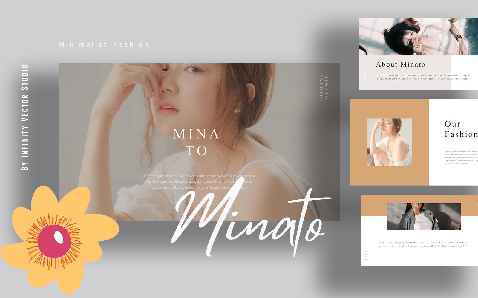 Minato Minimal Powerpoint