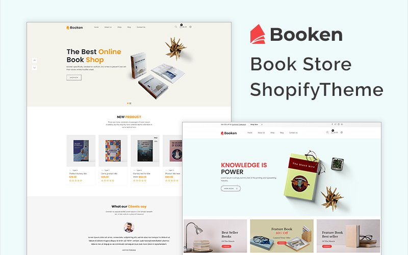 Booken - Book Store Shopify Theme