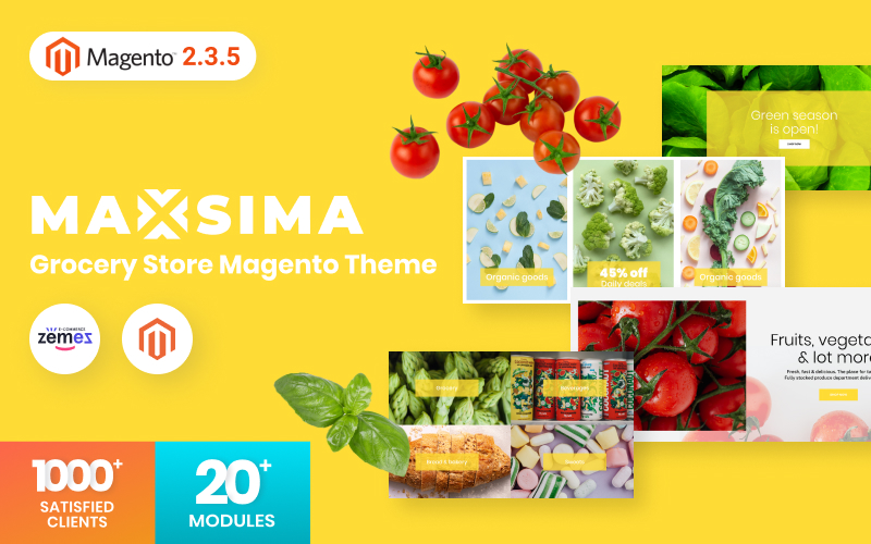 Maxsima - Grocery Store Magento2 Theme
