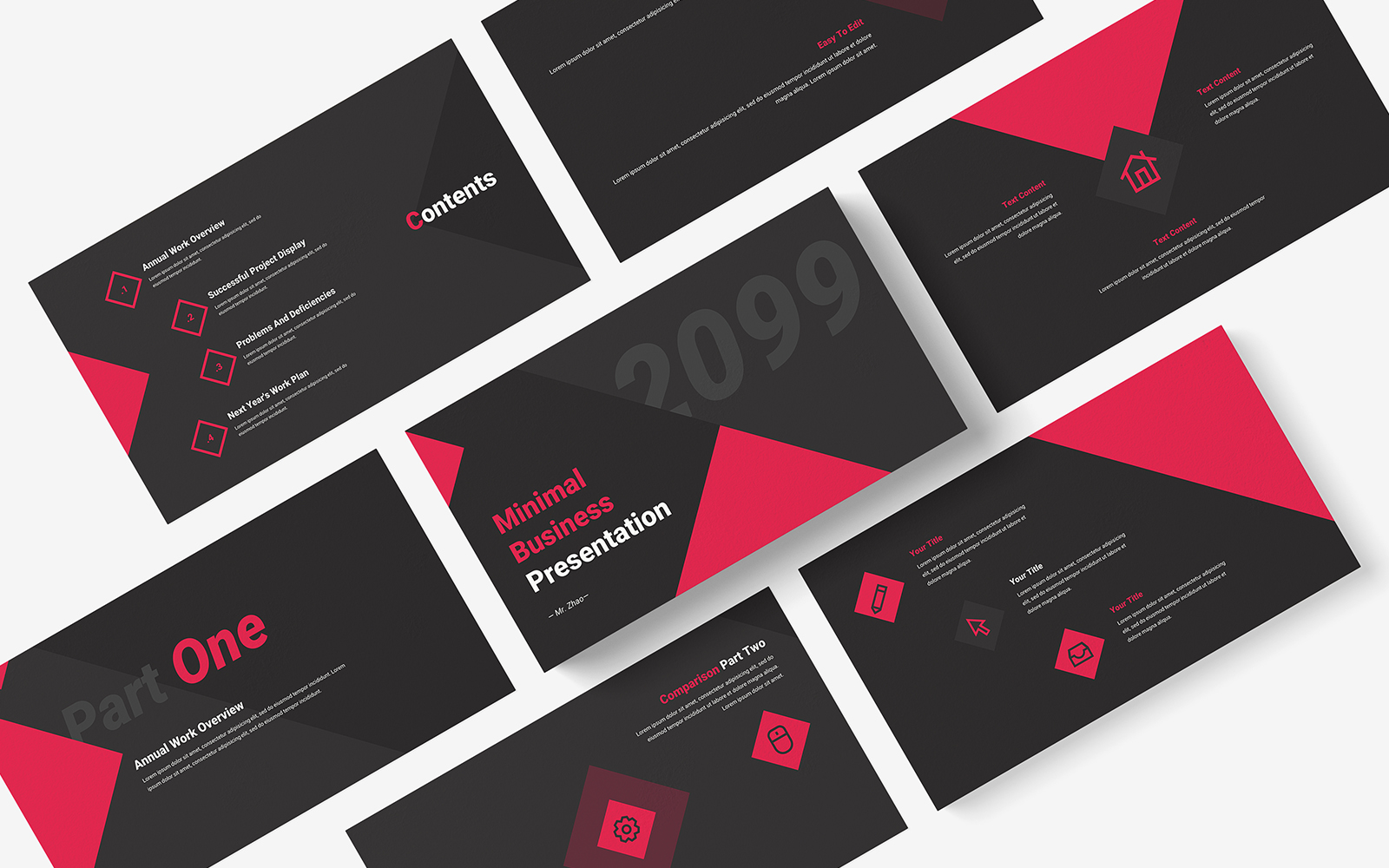 Minimal Corporate Business PowerPoint Template