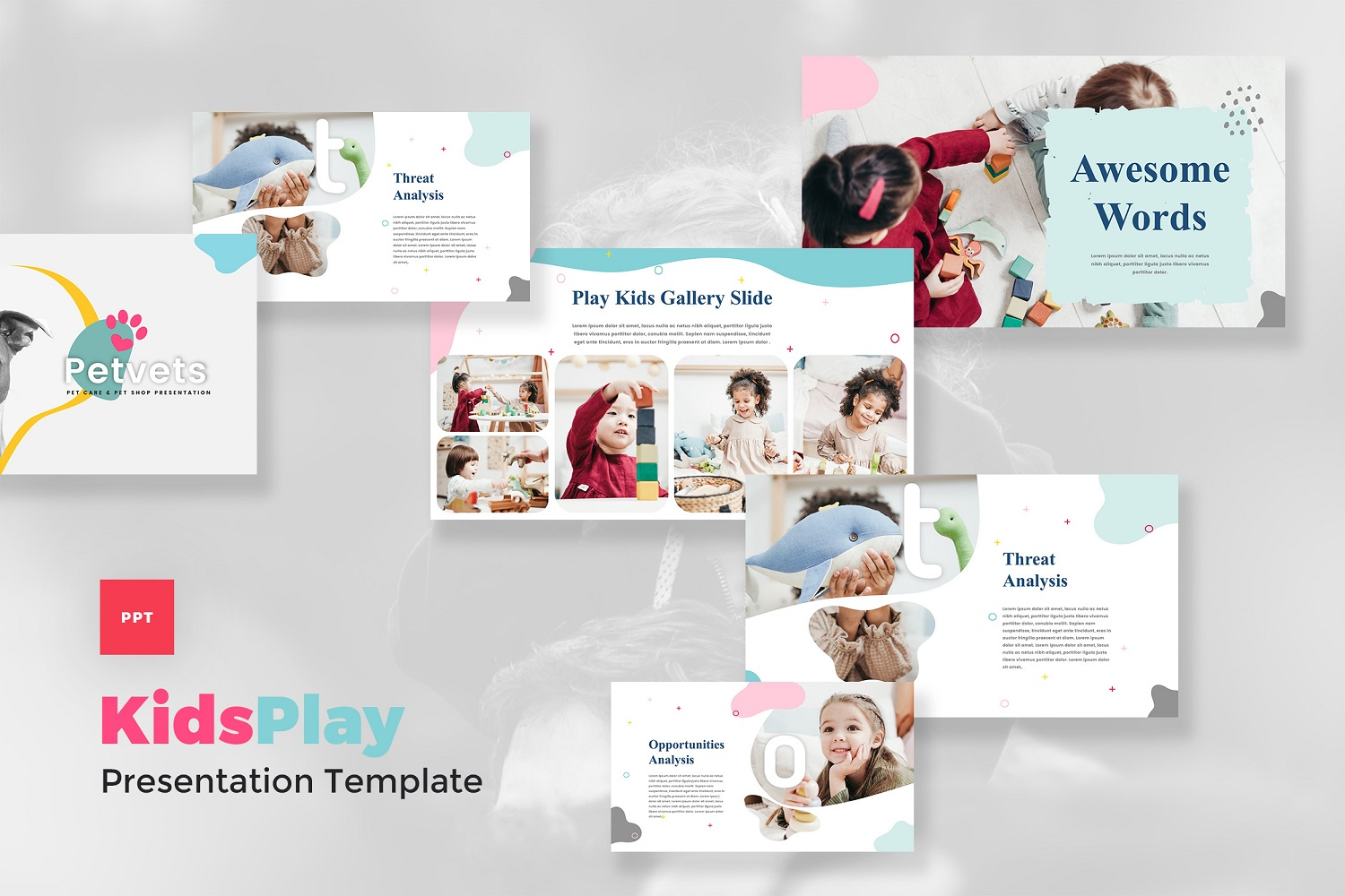 Kids Play - Kids & Baby PowerPoint Template
