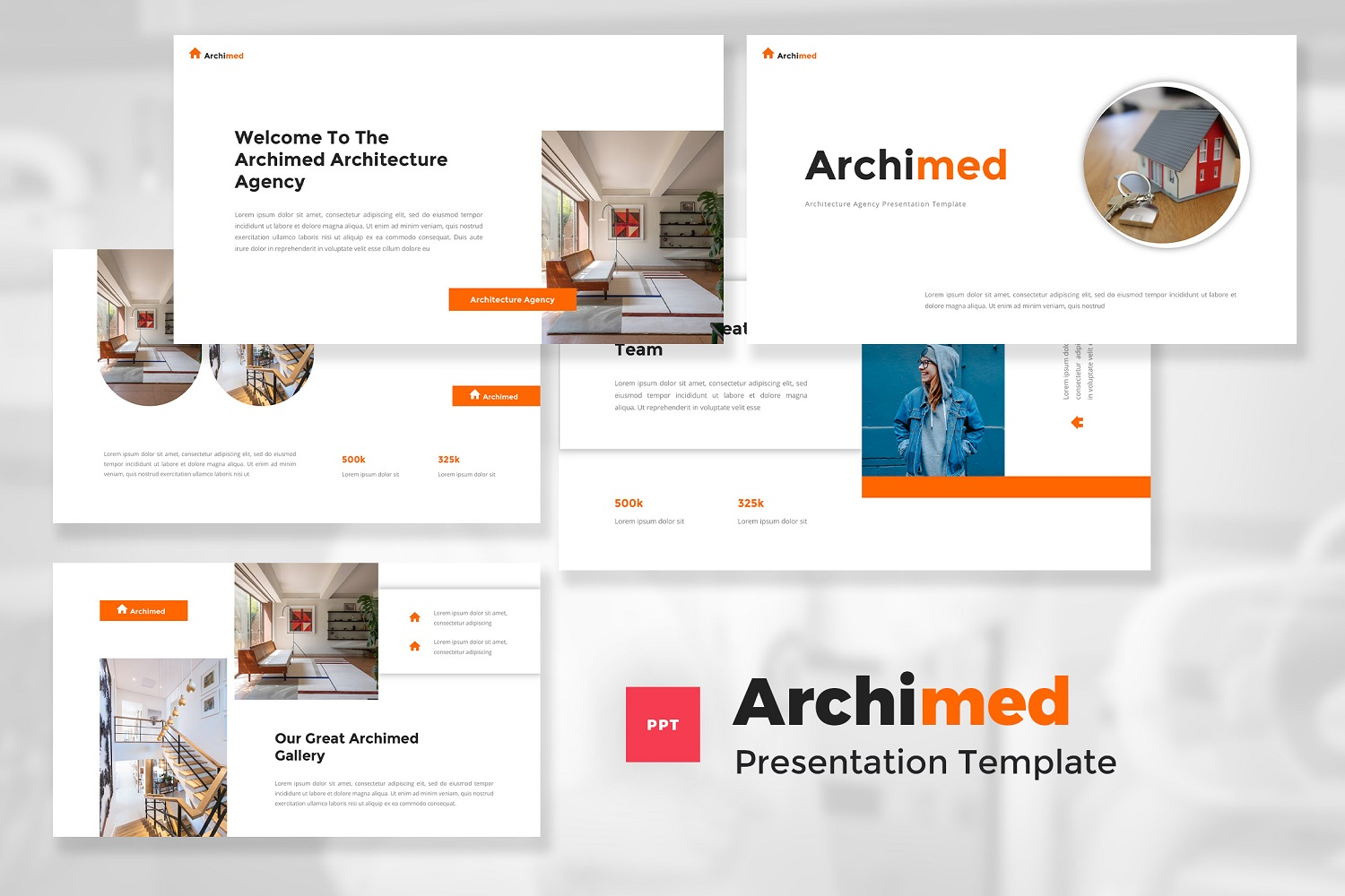 Archimed - Architecture PowerPoint Template