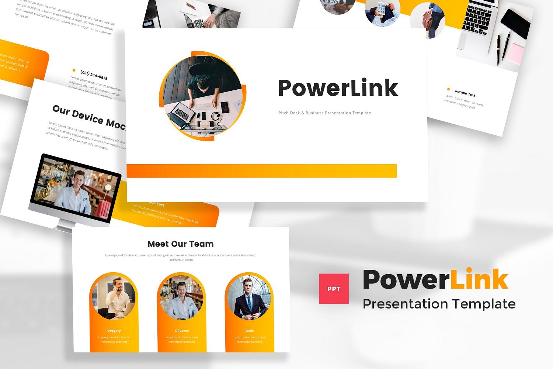 Powerlink - Pitch Deck PowerPoint Template
