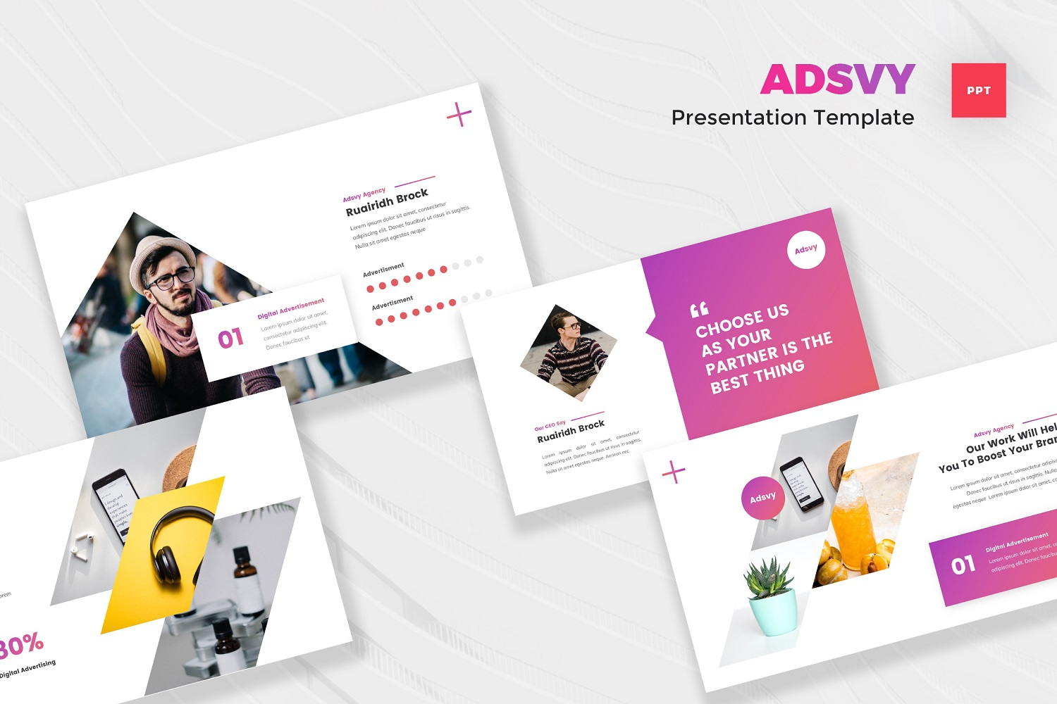Adsvy - Advertisement Powerpoint Template