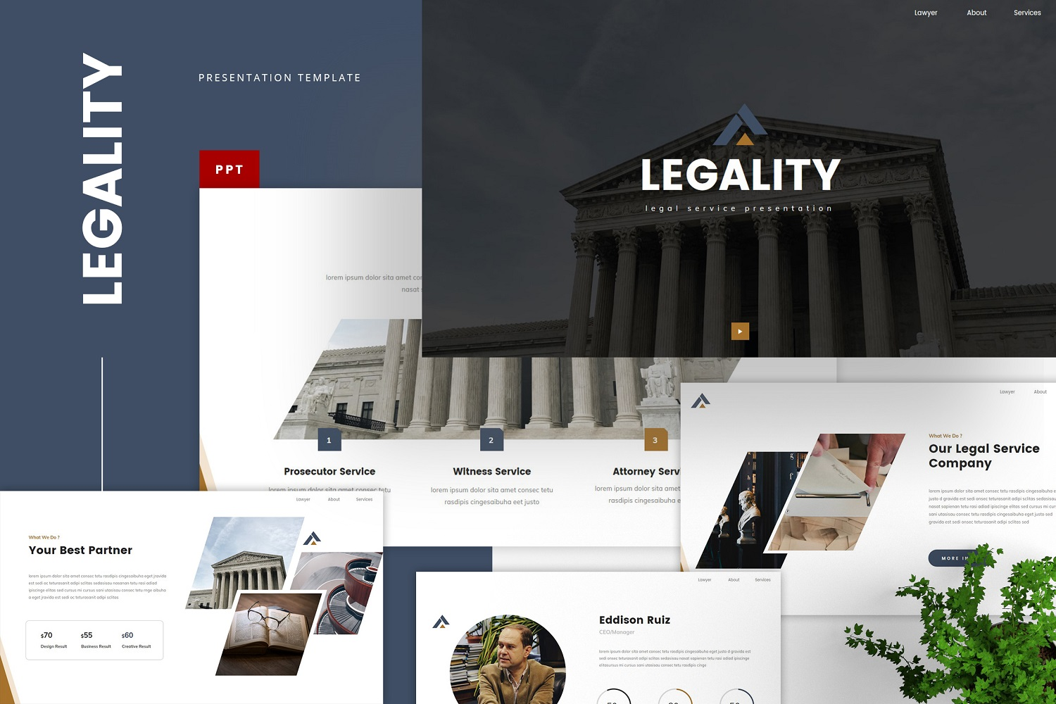 Legality - Legal Service Powerpoint Template