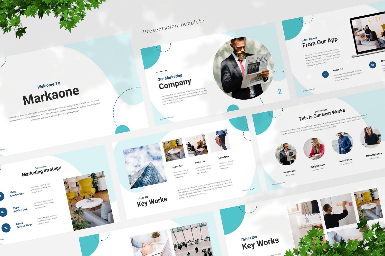Markaone - Marketing Powerpoint Template