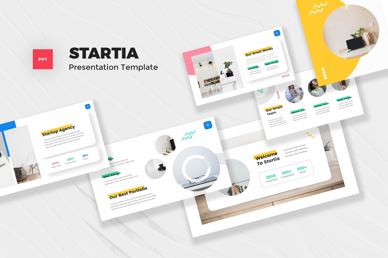 Startia - StartUp Powerpoint Template