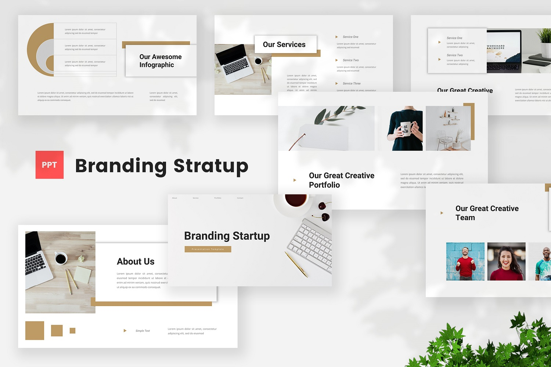 Branding - Startup Powerpoint Template