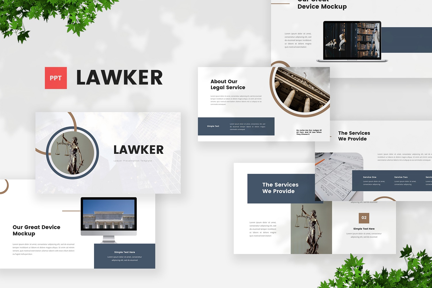 Lawker - Lawyer Powerpoint Template