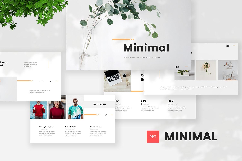 Minimal - Minimalist Powerpoint Template