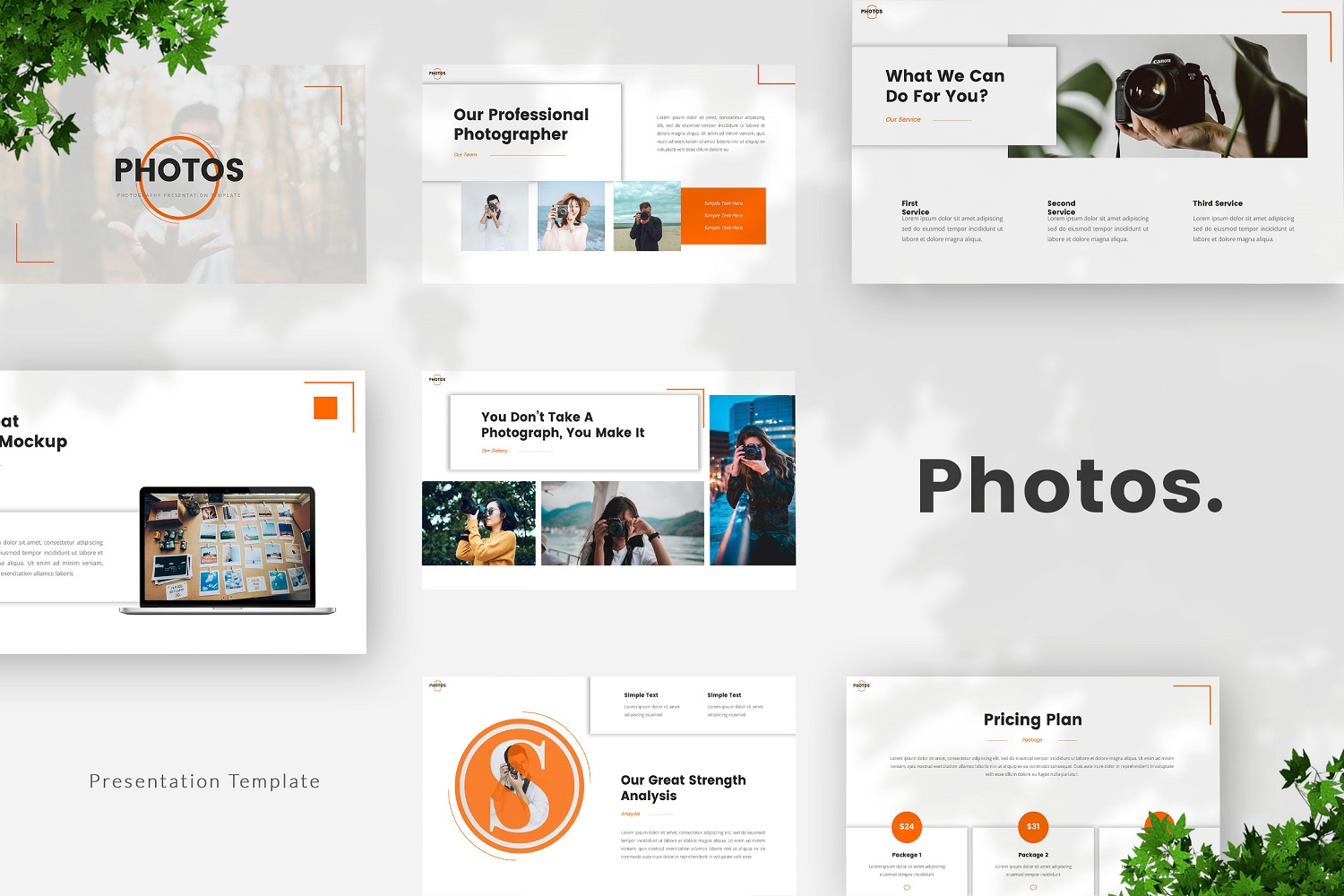 Photos - Photography Powerpoint Template