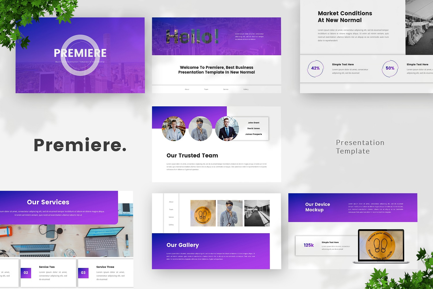 Premiere - Business Powerpoint Template