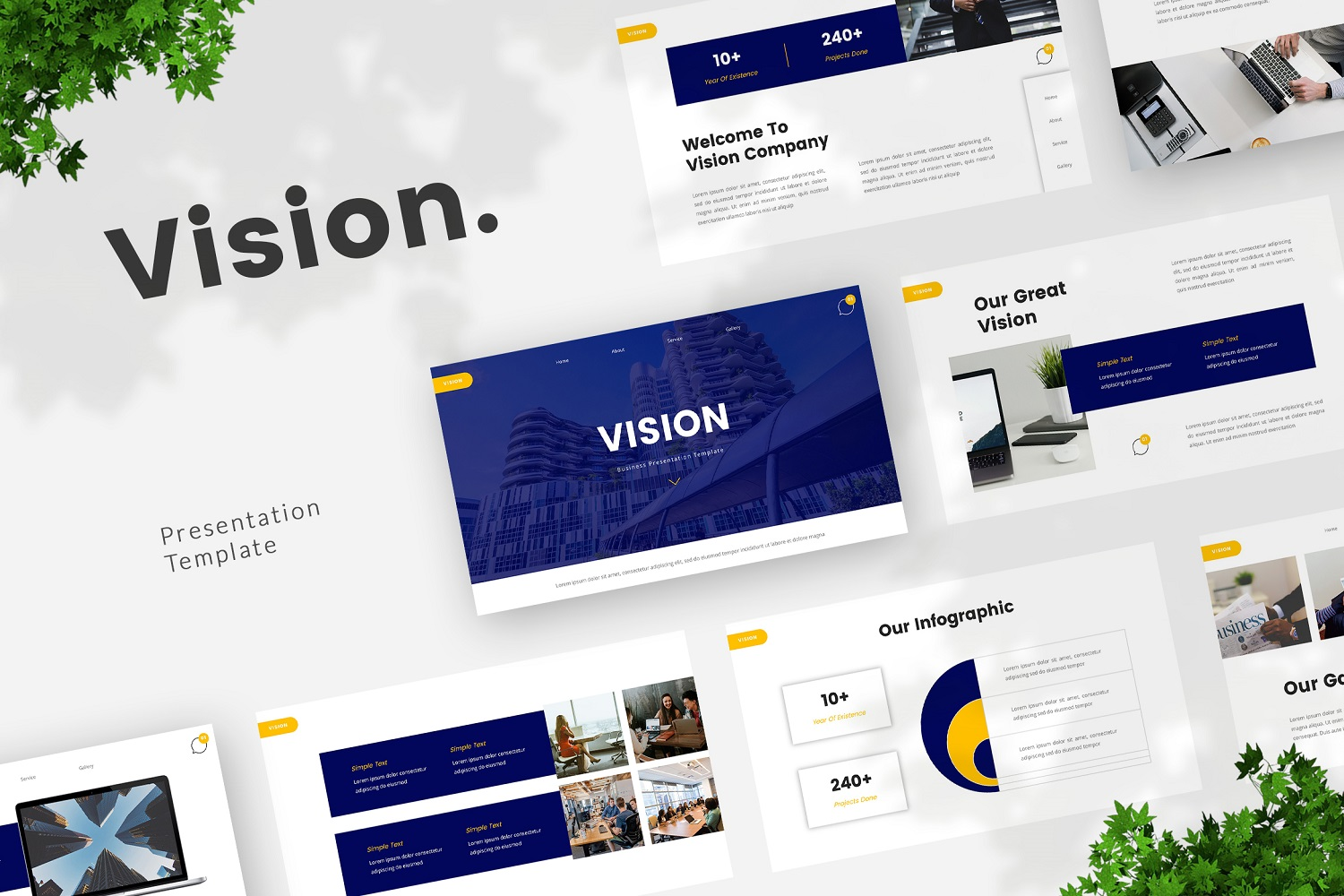 Vision - Business Powerpoint Template