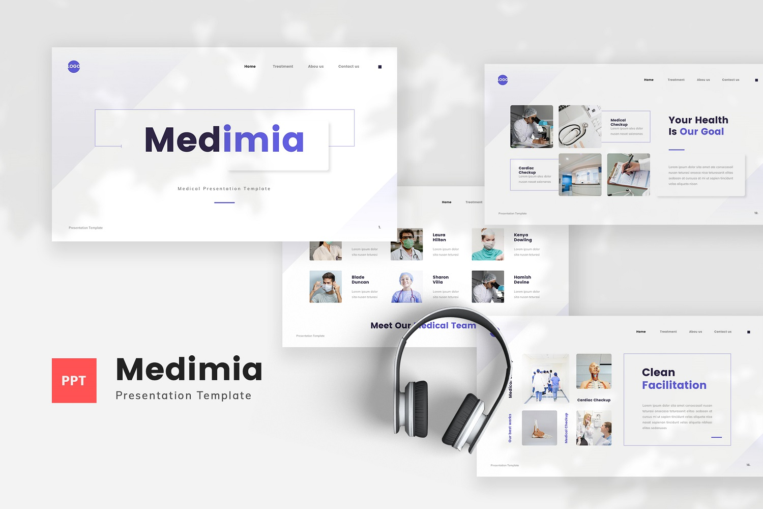 Medimia - Medical Powerpoint Template