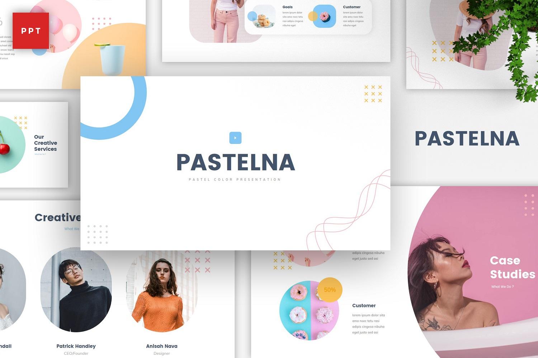 Pastelna - Pastel Color Powerpoint