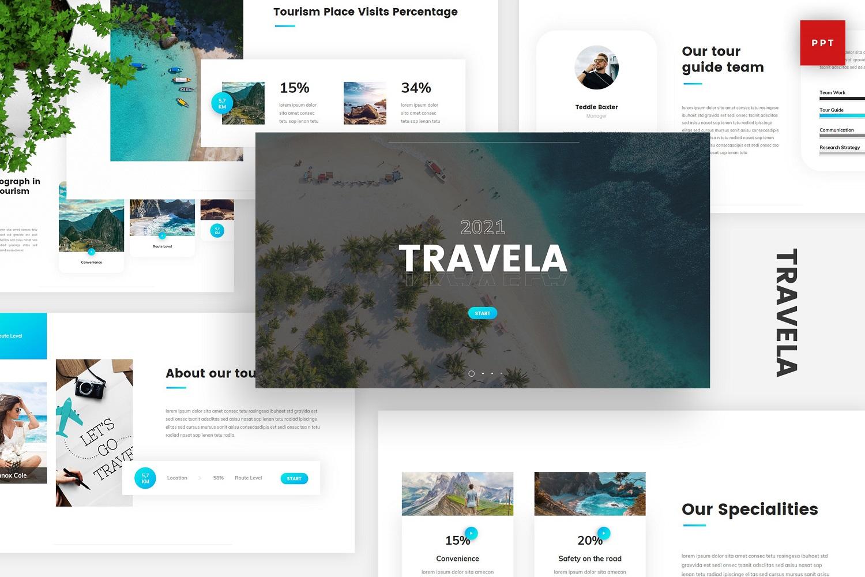 Travela - Travel Tourism Powerpoint
