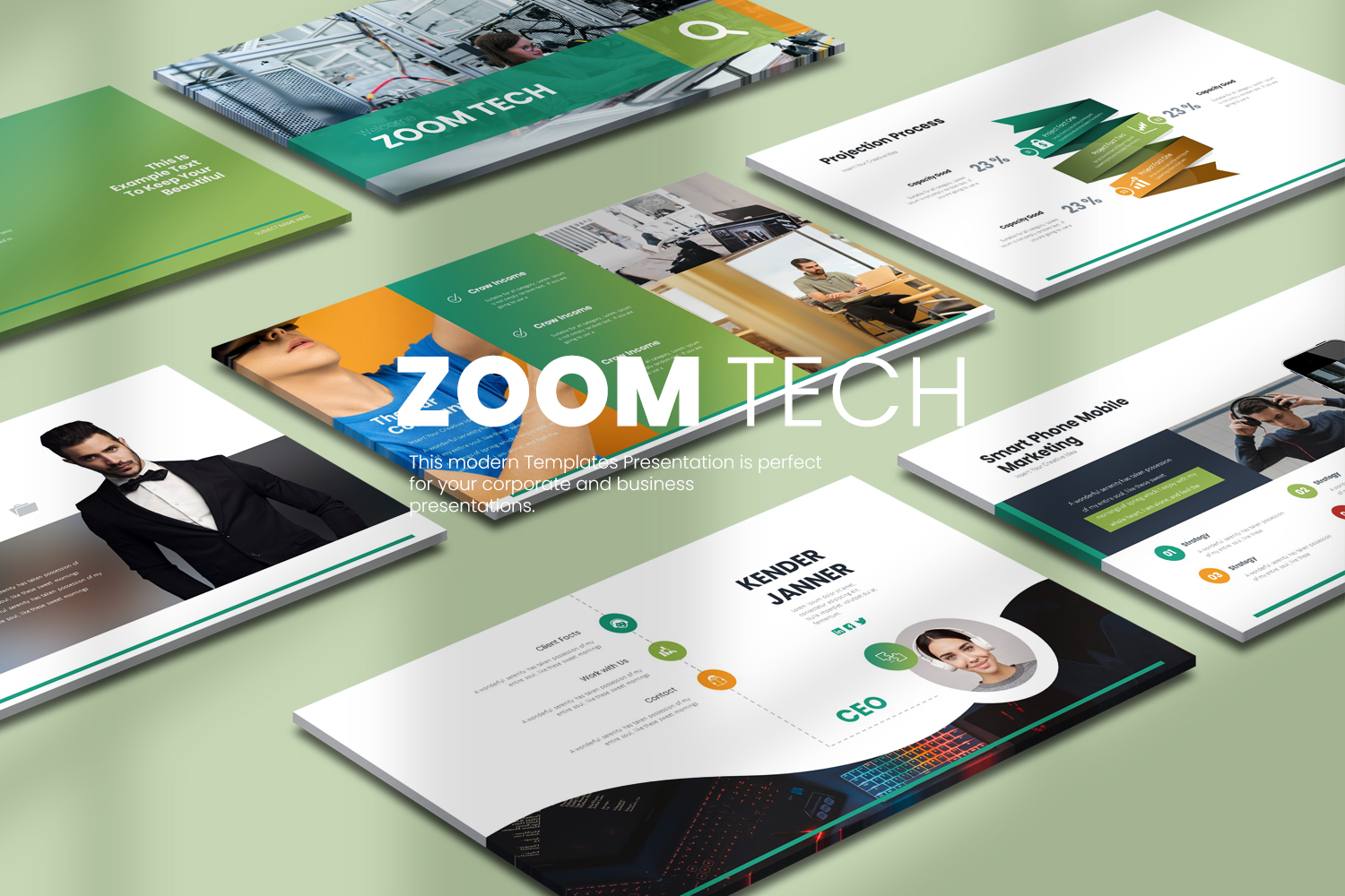 Zoom Tech Powerpoint Presentation