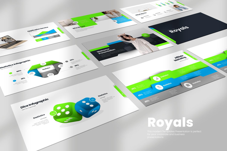 Royals Powerpoint Presentation
