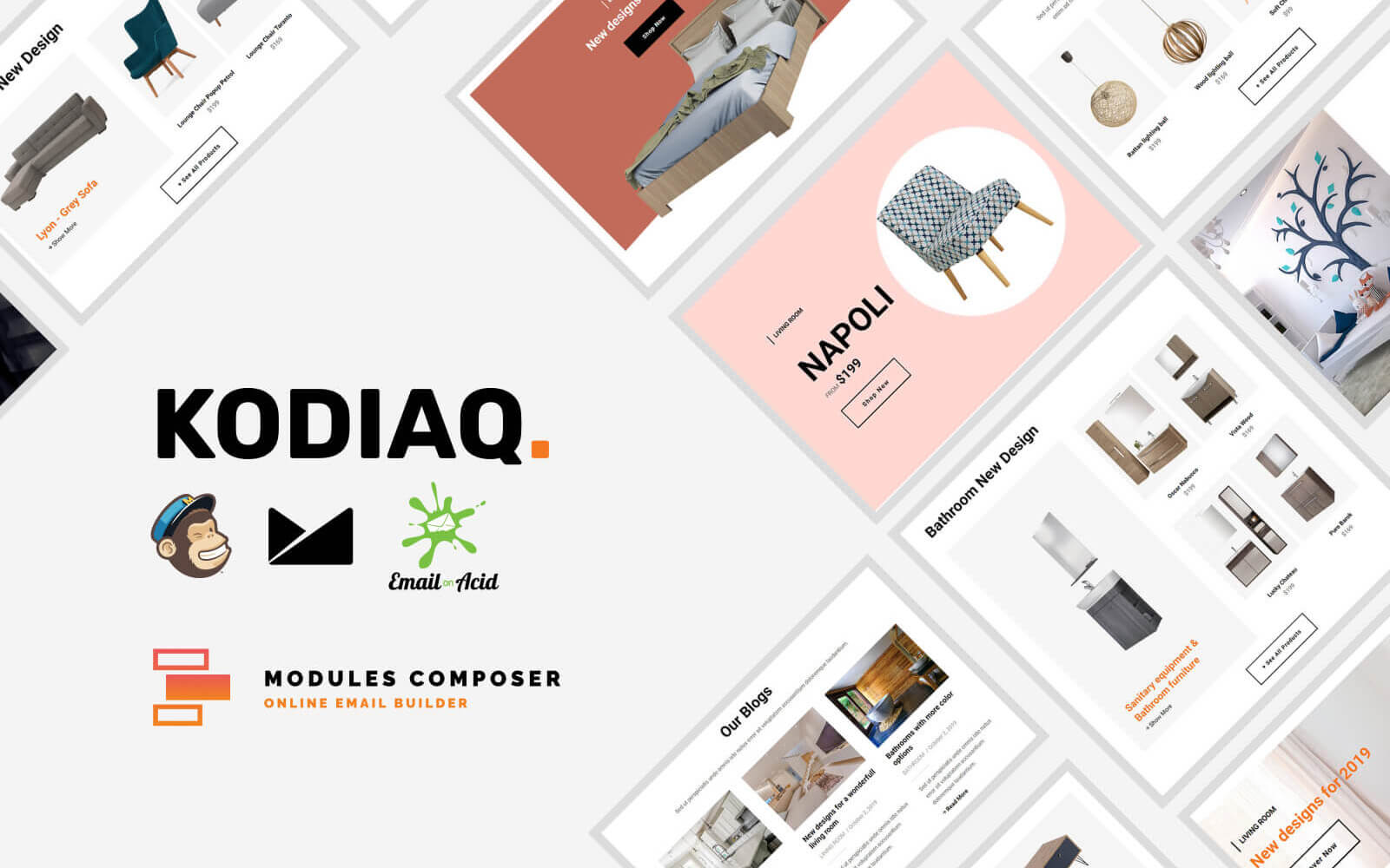 Kodiaq - E-Commerce Responsive Email for Agencies, Startups & Creative Teams