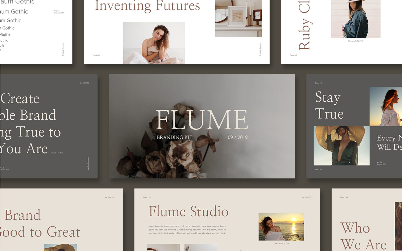 FLUME PowerPoint Template