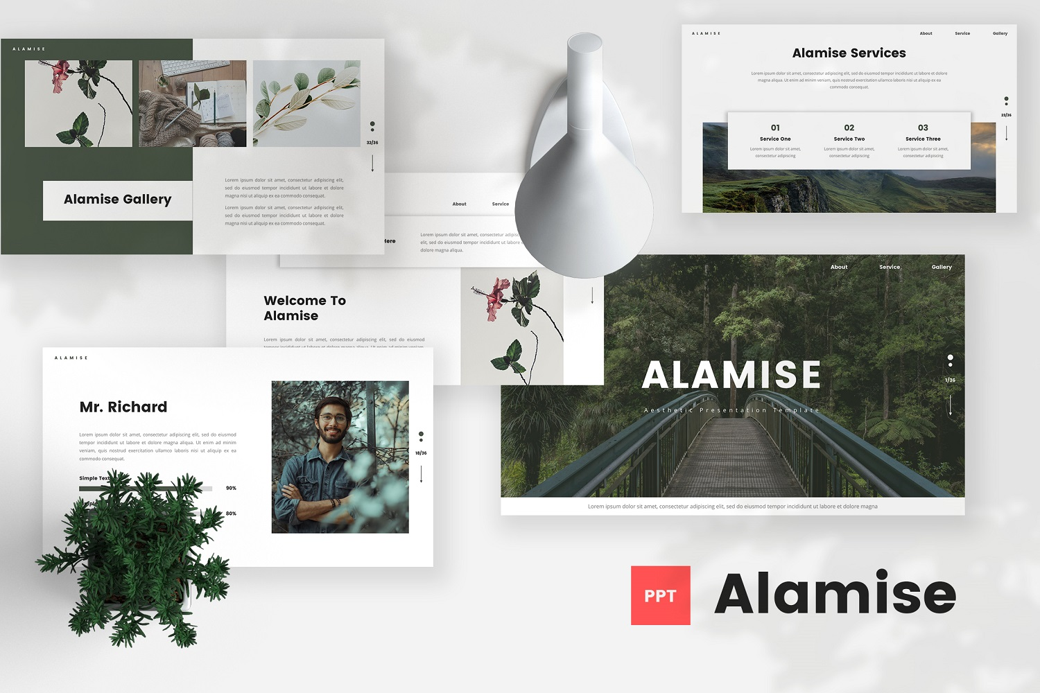 Alamise - Aesthetic Powerpoint Template
