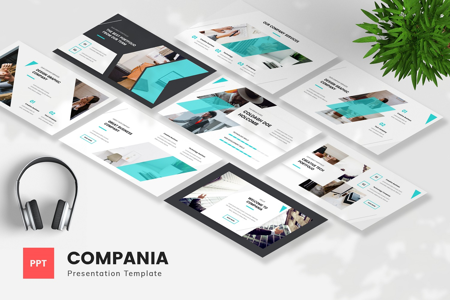 Compania - Company Profile Powerpoint Template