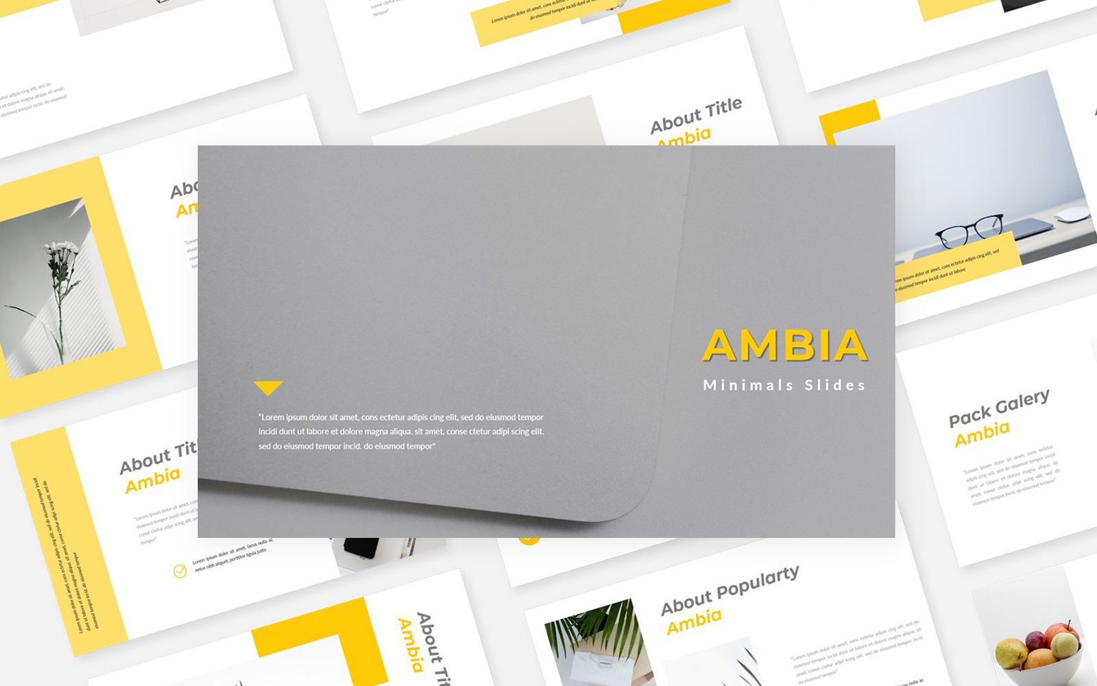 Ambia Minimals PowerPoint Template